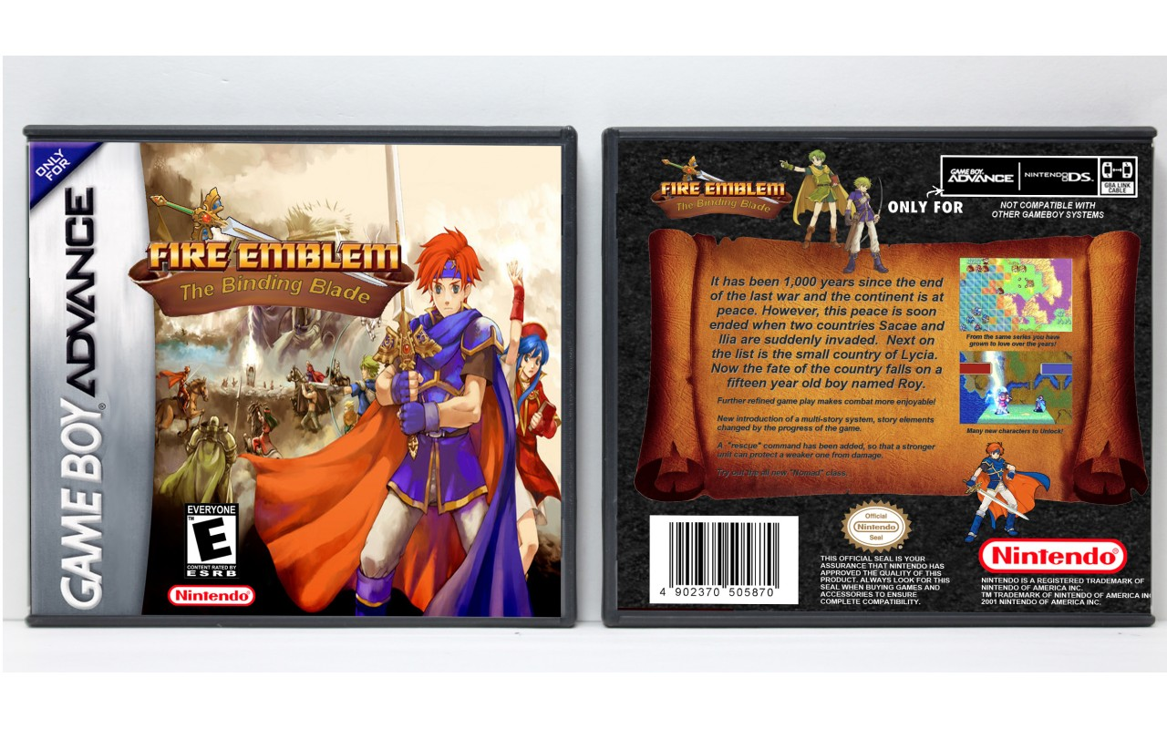Fire Emblem: Gameboy Advance (GBA) ROM DOWNLOAD
