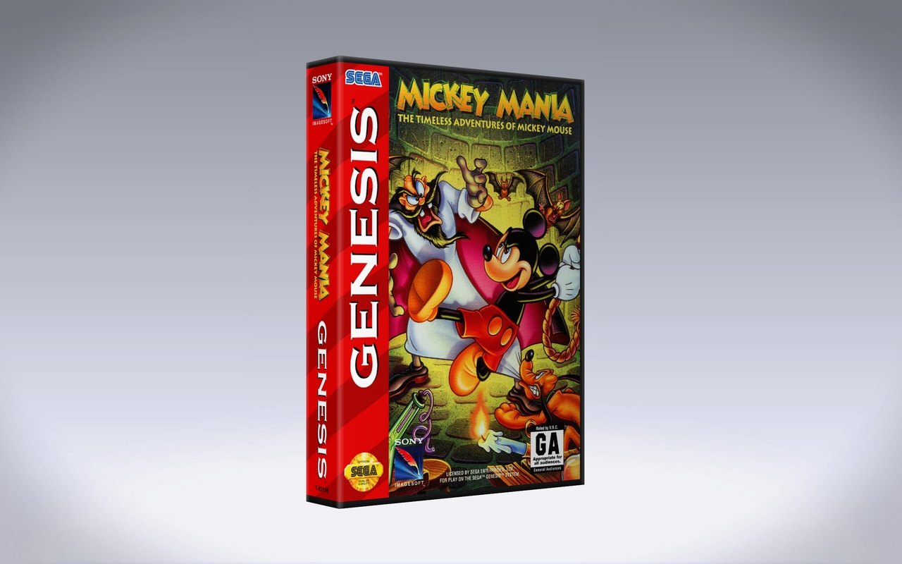 Mickey Mania: The Timeless Adventures of Mickey Mouse - Sega Genesis
