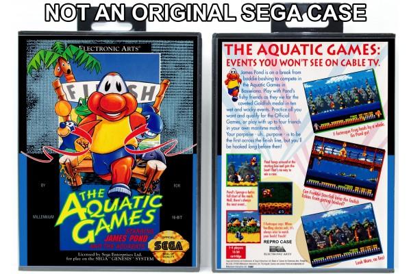 Aquatic Games Starring James Pond and the Aquabats (Requires modification)