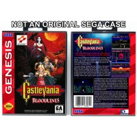 Castlevania Bloodlines (PAL Cover Art)