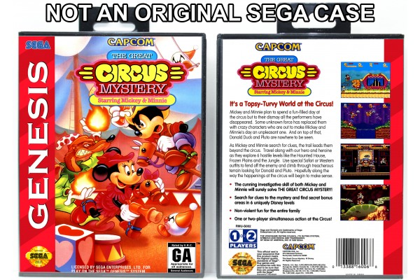 Great Circus Mystery Starring Mickey and Minnie, The