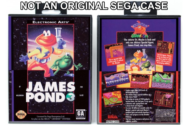 James Pond 3  (Requires YOU to Modify the Case)