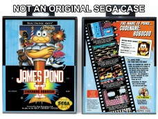 James Pond 2: Codename Robocod  (Requires YOU to Modify the Case)