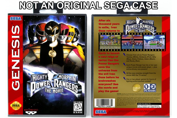 Mighty Morphin Power Rangers: The Movie (Variant)