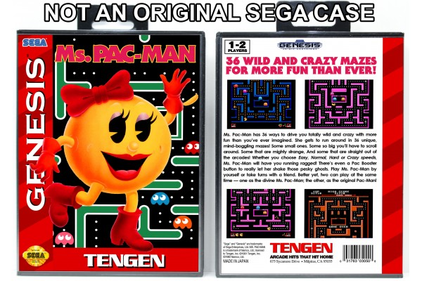 Ms. Pac-Man (Red Spine)