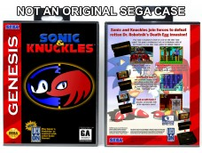 Sonic & Knuckles (Requires YOU to Modify the Case)