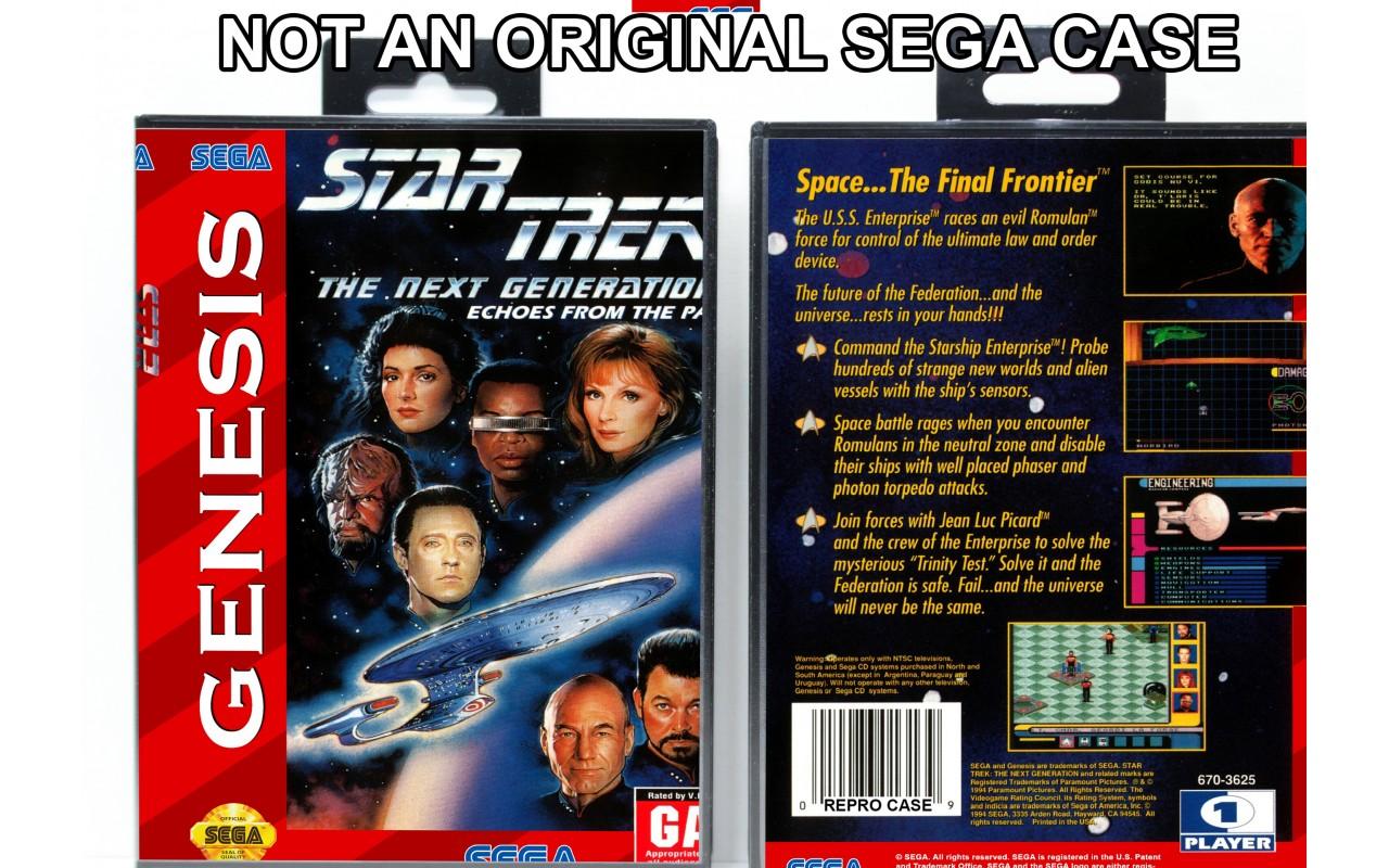 Star Trek: The Next Generation - Echoes From The Past - Sega Genesis