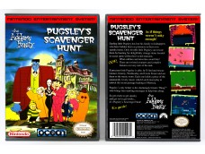 Addams Family - Pugsley's Scavenger Hunt