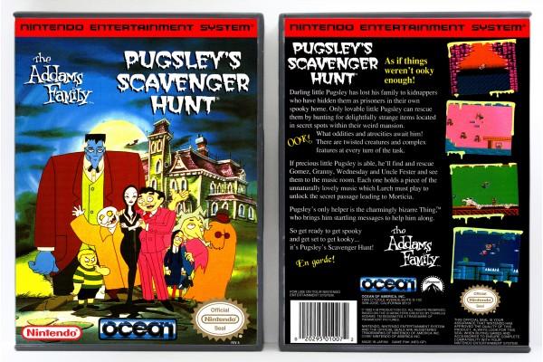Addams Family - Pugsley's Scavenger Hunt