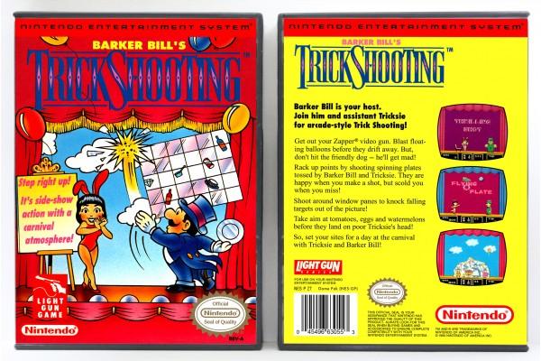 Barker Bill's Trick Shooting