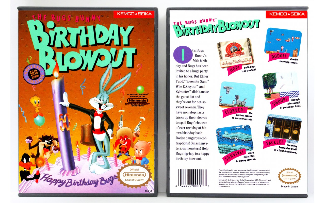 The Bugs Bunny's Birthday Bash Shooter for Bugs Bunny's Birthday Bash