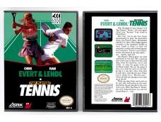 Crhis Evert and Ivan Lendl in Top Players Tennis