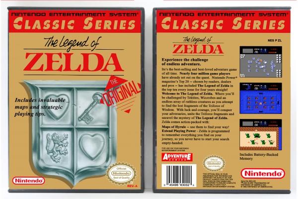 Legend of Zelda, The (Classic Series Release)