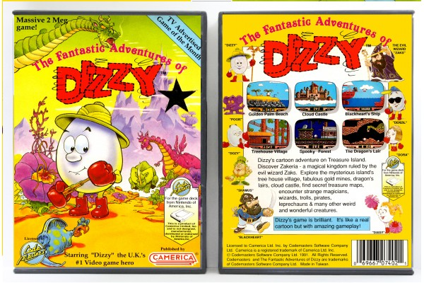 Fantastic Adventures of Dizzy, The (Camerica Version)