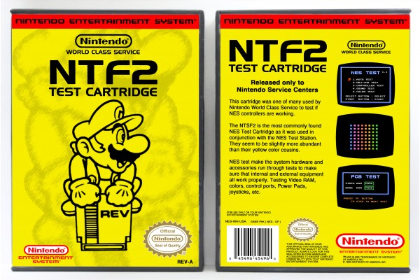 NTF2 Test Cartridge