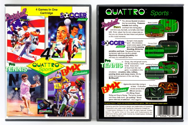 Quattro Sports: 4 Games in One