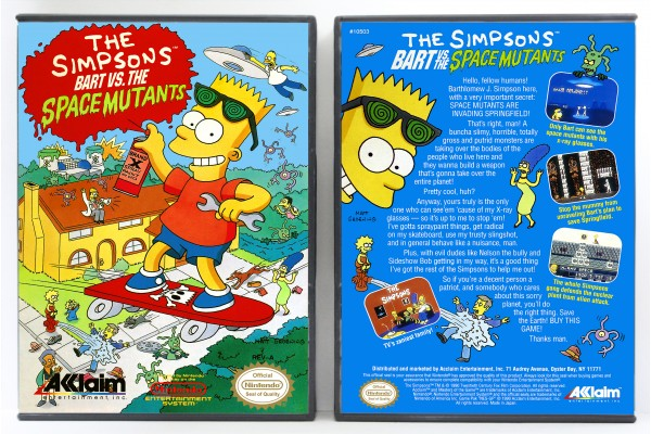 Simpsons, The: Bart vs the Space Mutants