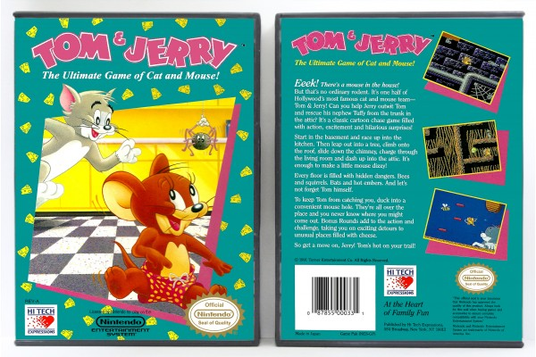 Tom & Jerry: The Ultimate Game of Cat and Mouse