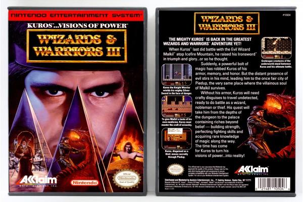 Wizards & Warriors III: Kuros Visions of Power