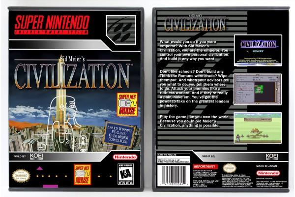 Civilization, Sid Meier's