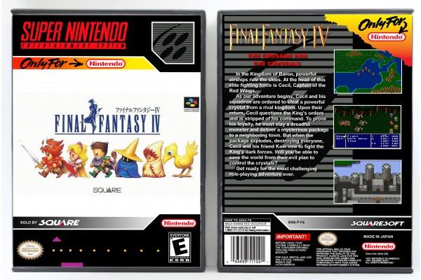 Final Fantasy IV (JP Front Art)