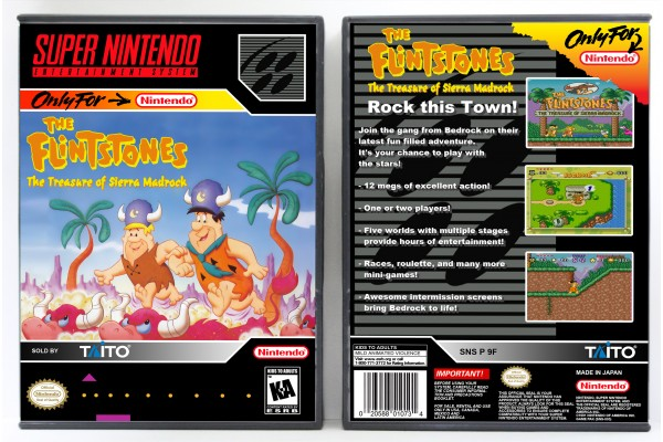 Flintstones: The Treasure of Sierra Madrock