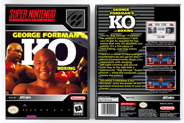 George Foreman's KO Boxing