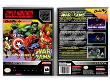 Marvel Superheroes In War of the Gems