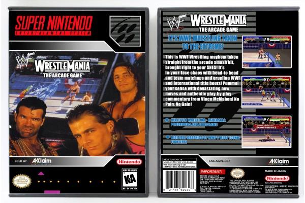WWF Wrestlemania: The Arcade Games