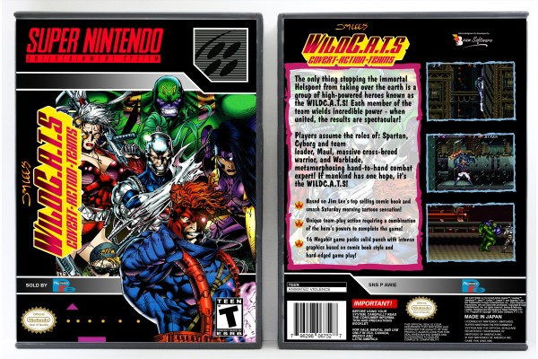 WildC.A.T.S: Cover Action Teams