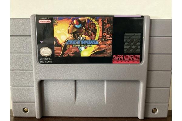 Super Metroid Zero Mission (Romhack)
