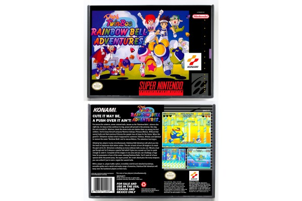 Pop'n TwinBee Rainbow Bell Adventures (SNES/SFC Hybrid Design)