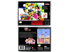 Pop'n TwinBee (SNES/SFC Hybrid Design)